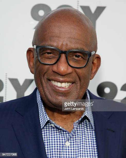 Al Roker appears in conversation with Natalie Morales at 92nd Street Y on April 16 2018 in New York City