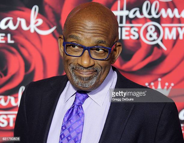 Al Roker arrives at Hallmark Channel And Hallmark Movies And Mysteries Winter 2017 TCA Press Tour at The Tournament House on January 14 2017 in...