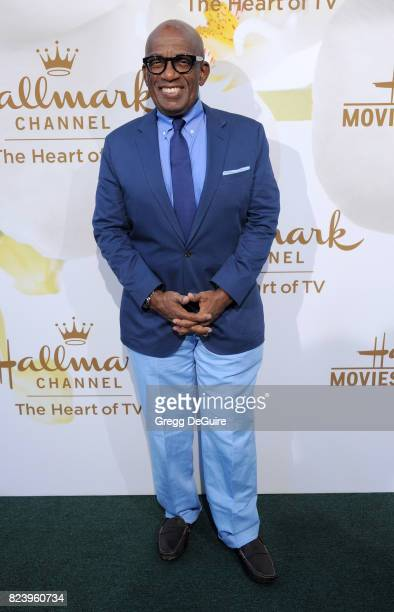 Al Roker arrives at the 2017 Summer TCA Tour Hallmark Channel And Hallmark Movies And Mysteries at a private residence on July 27 2017 in Beverly...