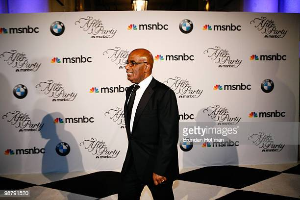 Al Roker arrives at the MSNBC Afterparty following the White House Correspondents' Association dinner on May 1 2010 in Washington DC The annual...