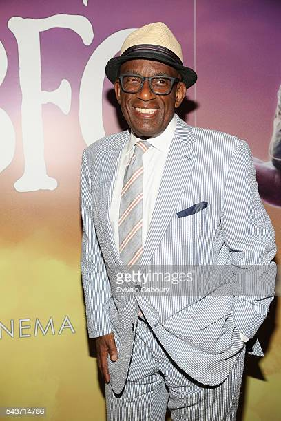 Al Roker attends a screening of 'The BFG' hosted by Disney and The Cinema Society at Village East Cinema on June 29 2016 in New York City