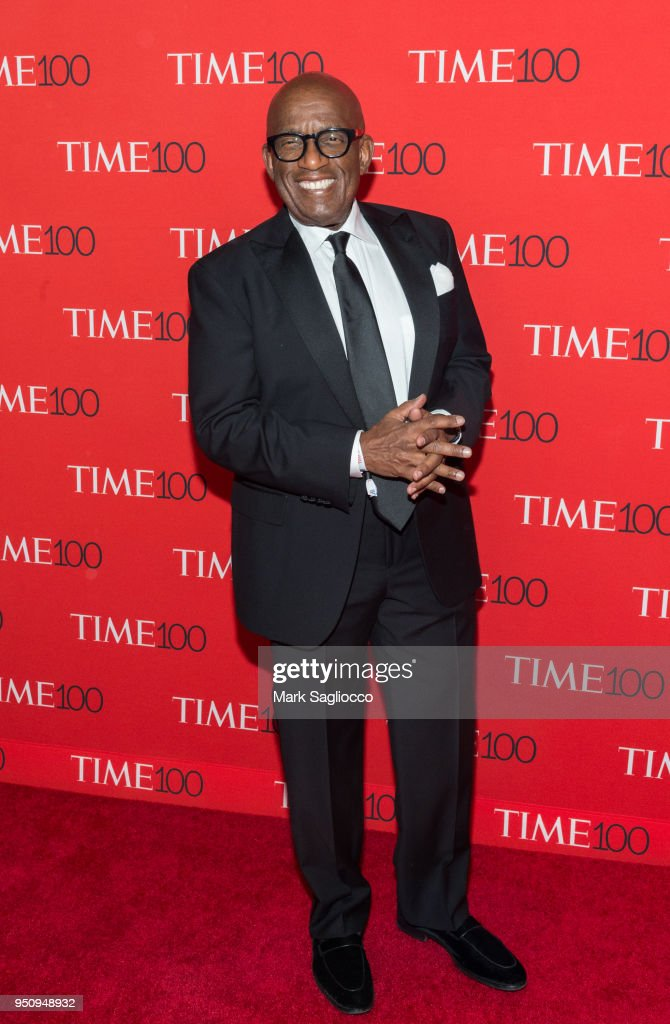 Al Roker attends the 2018 Time 100 Gala at Frederick P. Rose Hall, Jazz at Lincoln Center on April 24, 2018 in New York City.
