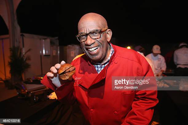 Al Roker attends the Amstel Light Burger Bash presented by Schweid Sons hosted by Rachael Ray during the 2015 Food Network Cooking Channel South...