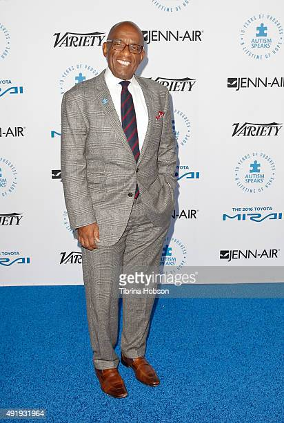 Al Roker attends the Autism Speaks to Los Angeles Celebrity Chef Gala at Barker Hangar on October 8 2015 in Santa Monica California