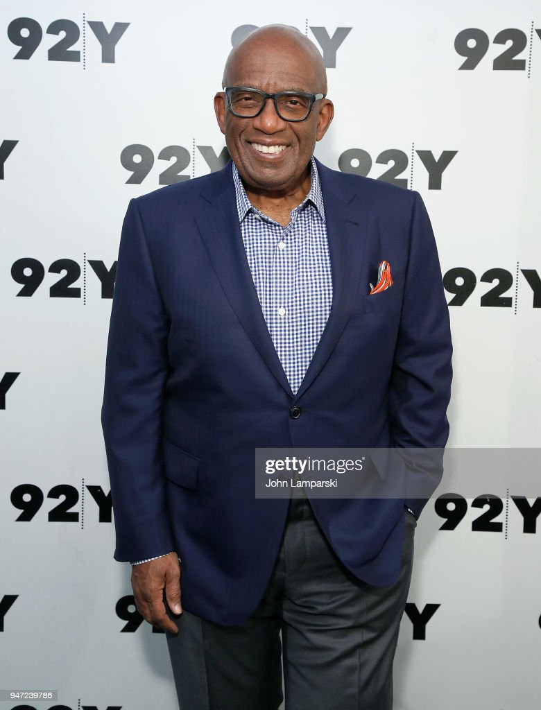 Al Roker attends the Natalie Morales in conversation with Al Roker event at 92nd Street Y on April 16, 2018 in New York City.