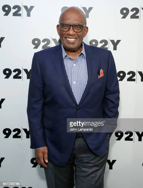 Al Roker attends the Natalie Morales in conversation with Al Roker event at 92nd Street Y on April 16 2018 in New York City
