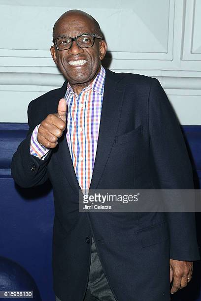 Al Roker attends the Opening of Broadway's AllStar 'The Front Page' at the Broadhurst Theatre on October 20 2016 in New York City