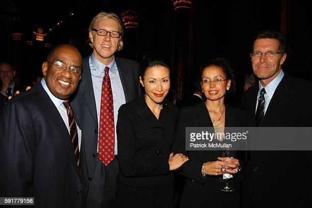 Al Roker Brian Ross Ann Curry Debra Phillips and Stone Phillips attend NYU Child Study Center Eighth Annual Child Advocacy Award Dinner at Cipriani...