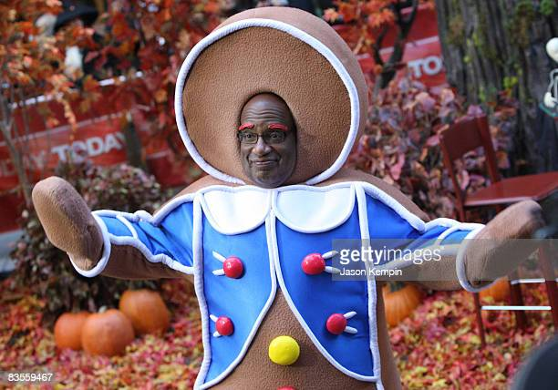 Al Roker celebrates Halloween on NBC's Today at Rockefeller Plaza on October 31 2008 in New York City