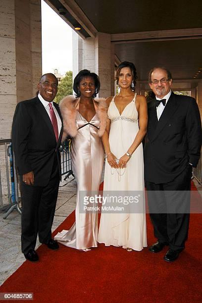 Al Roker Deborah Roberts Padma Lakshmi and Salman Rushdie attend Metropolitan Opera Opening Night Red Carpet Arrivals at Lincoln Center on September...