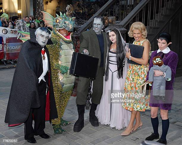 Al Roker dressed as Grandpa Munster Tiki Barber dressed as Spot Munster Matt Lauer dressed as Herman MunsterMeredith Vieira Dressed as Lilian...