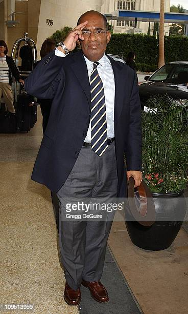 Al Roker during 2003 National Cable Telecommunications Assn Press Tour Day Three at Renaissance Hotel in Hollywood California United States