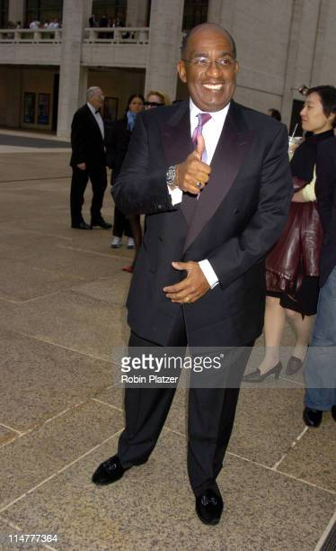 Al Roker during 65th Annual American Ballet Theatre Spring Gala at The Metropolitan Opera House at Lincoln Center in New York City New York United...