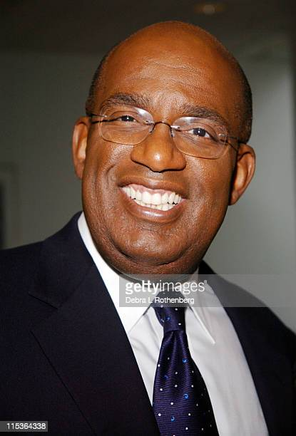 Al Roker during Al Roker and Court TV Unite to Keep Kids Safe in Cyberspace at John Jay College Of Criminal Justice in New York City New York United...