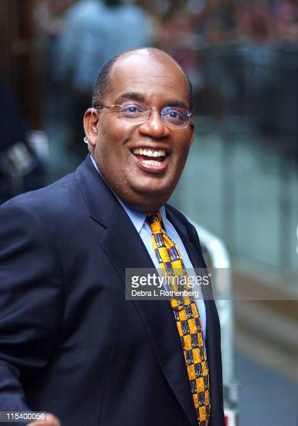 Al Roker during Al Roker On 'The Today Show' February 6th 2002 at Rockefeller Plaza in New York City New York United States