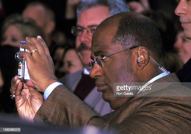 Al Roker during Phil Collins Performs on 'The Today Show' November 15 2002 at Rockefeller Center in New York City New York United States