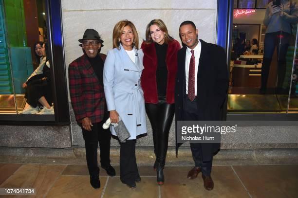 Al Roker Hoda Kotb Savannah Guthrie and Craig Melvin host the 86th Annual Rockefeller Center Christmas Tree Lighting Ceremony at Rockefeller Center...