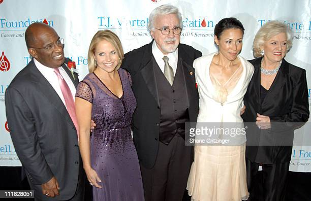 Al Roker Katie Couric Tony Martell Ann Curry and Francis Preston
