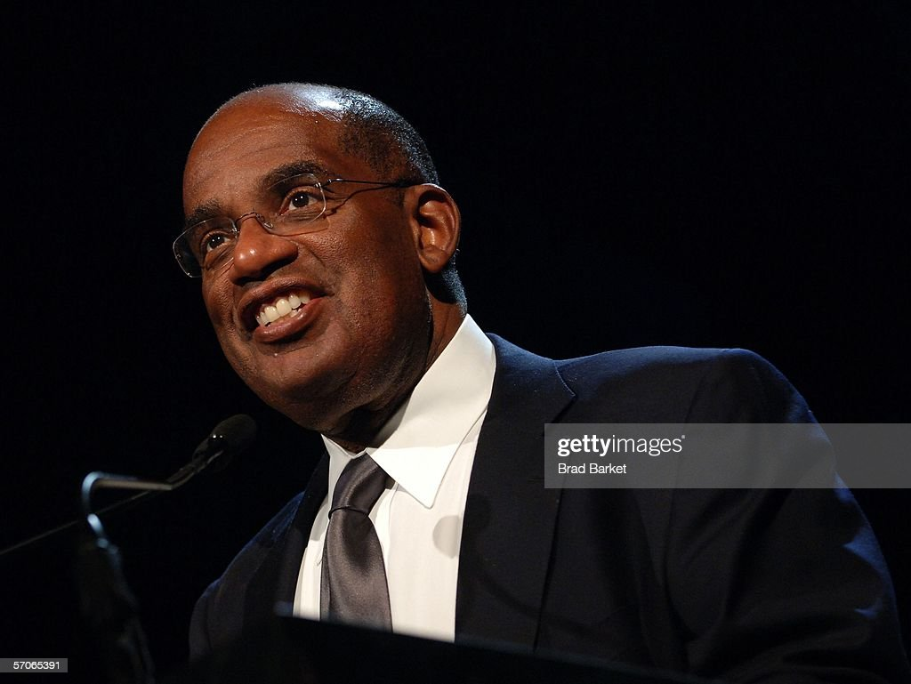 Al Roker speaks at the 2006 New York Emmy Awards at the the Marriott Marquis on March 12, 2006 in New York City.
