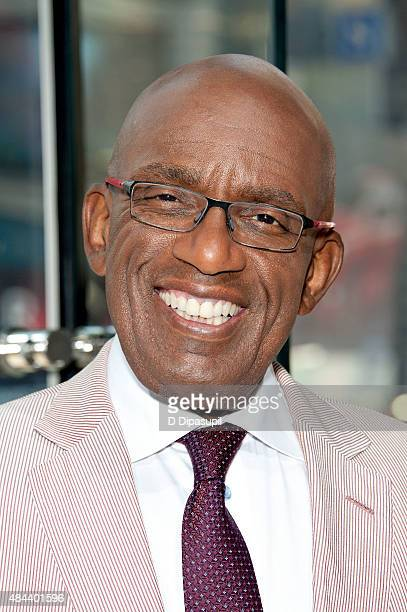 Al Roker visits 'Extra' at their New York studios at HM in Times Square on August 18 2015 in New York City