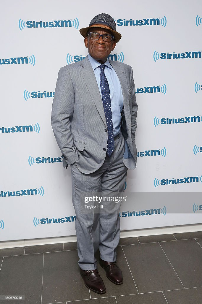 Al Roker visits the SiriusXM Studios on July 14, 2015 in New York City.