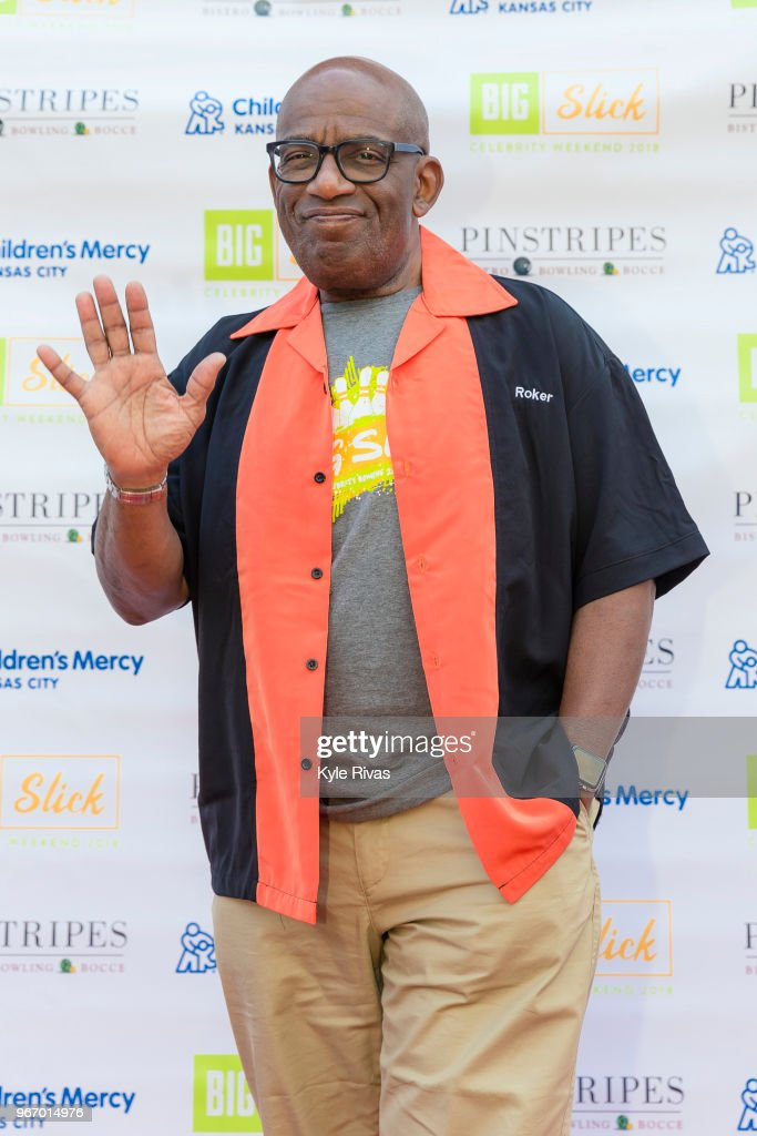 Al Roker walks the Red Carpet before participating in bowling at Pinstripes during the Big Slick Celebrity Weekend benefitting Children's Mercy Hospital of Kansas City on June 02, 2018 in Overland Park, KS.