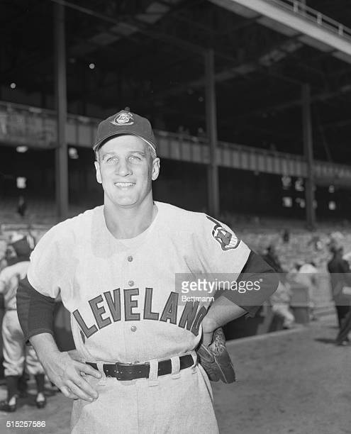 Al Rosen 3rd baseman for the Cleveland Indians is shown