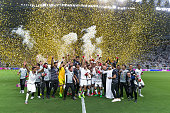 doha qatar al sadd celebrate winning
