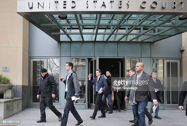 Al Salman leaves the federal courthouse following a court appearance by his niece Noor Salman on January 17 2017 in Oakland California Noor Salman...