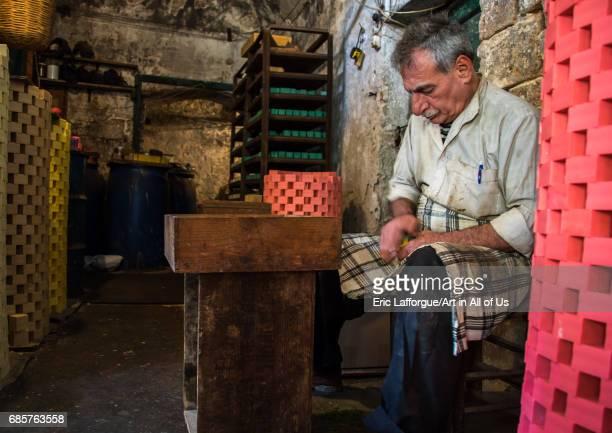 Al Sharkas soap workshop in khan al misriyin North Governorate Tripoli Lebanon on April 29 2017 in Tripoli Lebanon