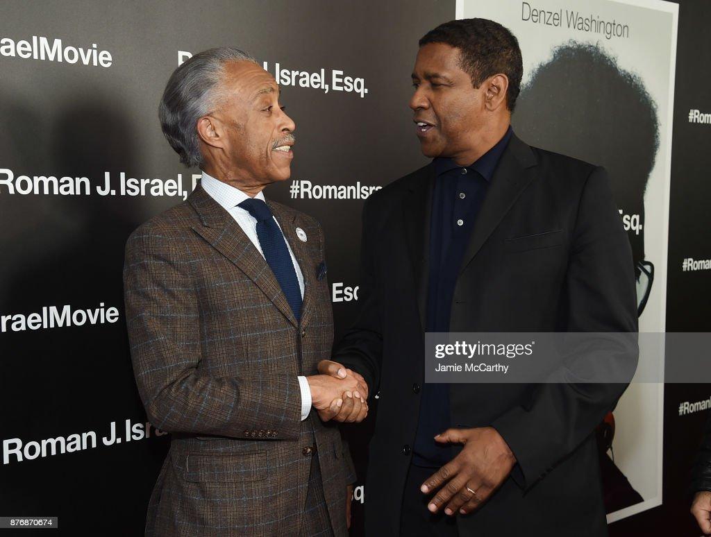 """Roman J. Israel, Esq."" New York Screening - Red Carpet : News Photo"