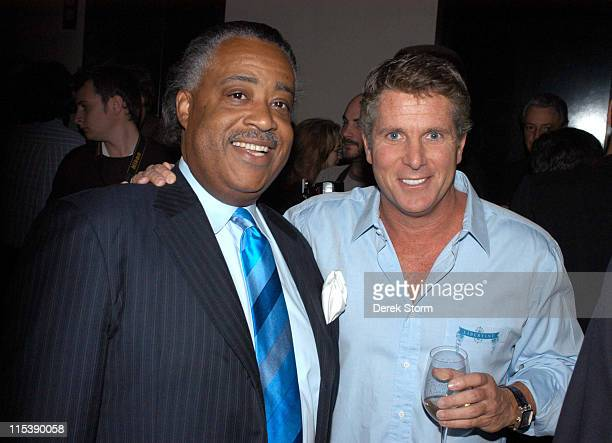 Al Sharpton and Donny Deutsch during Donny Deutsch Signs His Book 'Often Wrong Never in Doubt Unleash the Business Rebel Within' at the Chambers...