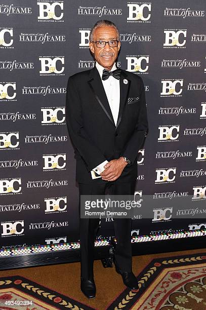 Al Sharpton attends Broadcasting and Cable Hall Of Fame Awards 25th Anniversary Gala at The Waldorf Astoria on October 20 2015 in New York City