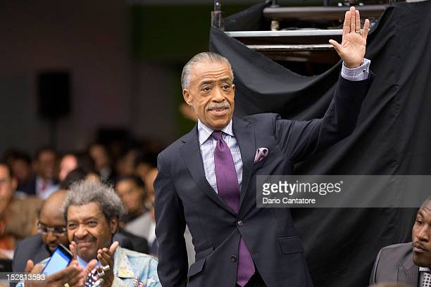 Al Sharpton attends the Black November New York City Premiere at United Nations on September 26 2012 in New York City