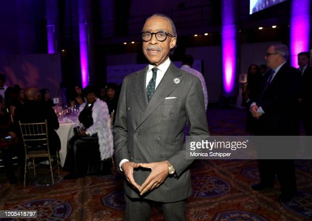 Al Sharpton attends the Fifth Annual National CARES Mentoring Movement Gala at Cipriani Wall Street on February 10, 2020 in New York City.