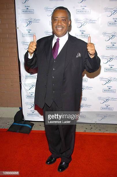 Al Sharpton during Rev Al Sharpton's 50th Birthday Party at Milieu in New York City New York United States