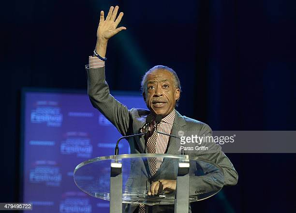 Al Sharpton onstage at the 2015 Essence Music Festival on July 4 2015 in New Orleans Louisiana