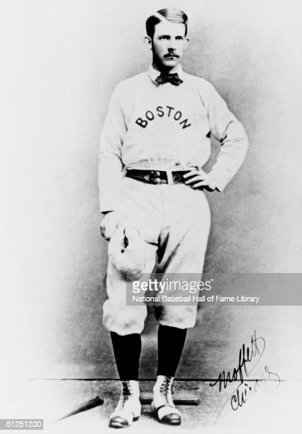 Al Spalding poses for a season portrait Al Spalding played for the Boston Red Stockings from 18761878