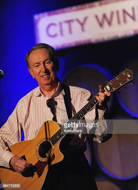 Al Stewart performs at City Winery on April 13 2014 in New York City