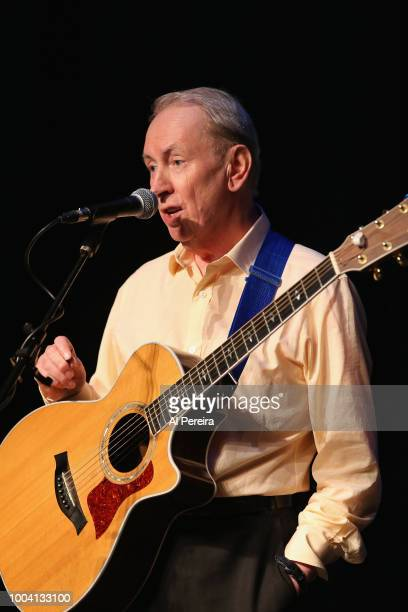 Al Stewart performs at The Boulton Center on July 22 2018 in Bay Shore New York