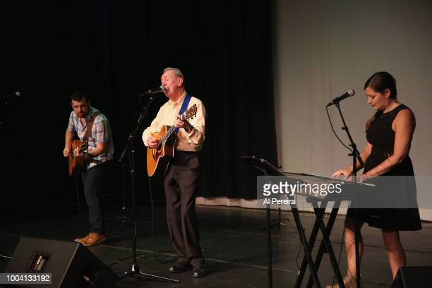Al Stewart performs with The Empty Pockets at The Boulton Center on July 22 2018 in Bay Shore New York