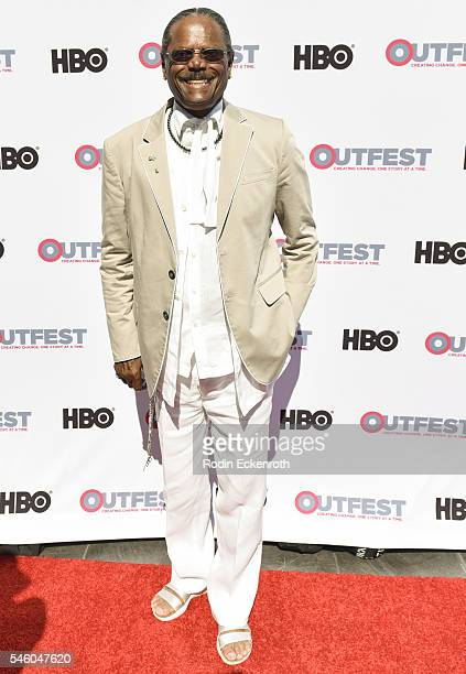 Al Von attends 2016 Outfest Los Angeles LGBT Film Festival screening of Jewels Catch One at Harmony Gold Theatre on July 10 2016 in Los Angeles...