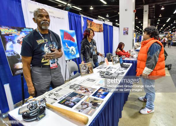 Al White the actor who played Jive Man in Airplane and the father with the baseball bat living in Marty's house in the alternate 1985 in Back to the...