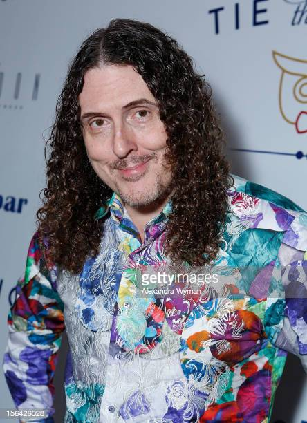 Al Yankovic at the launch of Tie The Knot a charity benefitting marriage equality through the sale of limited edition bowties available online at...