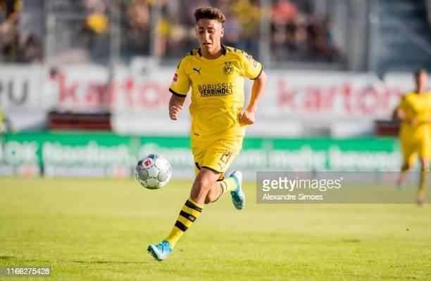 Alaa Bakir during the friendly match between Energie Cottbus and Borussia Dortmund at Stadion der Freundschaft on September 6, 2019 in Cottbus,...