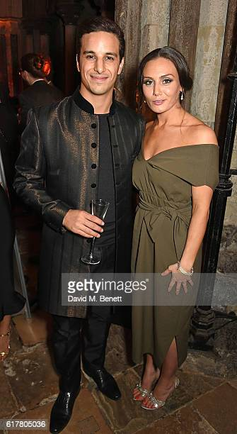 Alaa Safi and Zara Phythian attend Marvel Studios and British GQ hosted reception in The Cloisters at Westminster Abbey, to celebrate the release of...