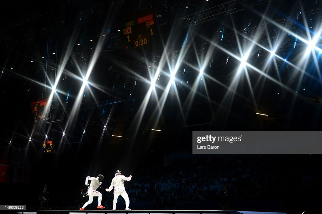 Olympics Day 4 - Fencing : News Photo