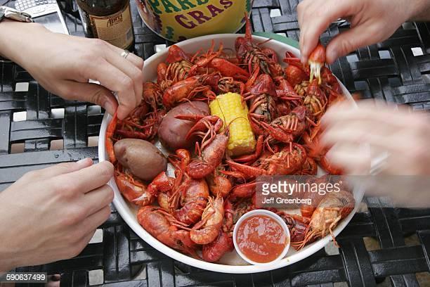 Alabama Birmingham Patton Creek Shopping Center Cajun Steamer Bar And Grill Boiled Seasoned Crayfish