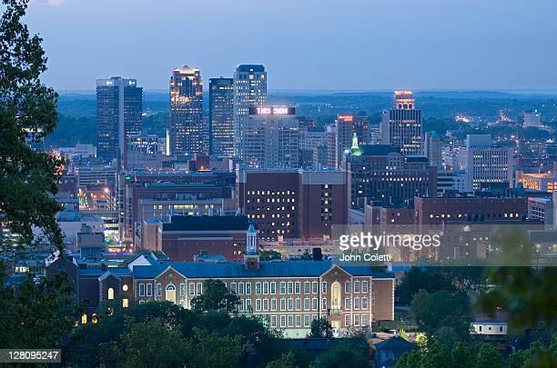alabama, birmingham, united states banking center - アラバマ州バーミングハム ストックフォトと画像