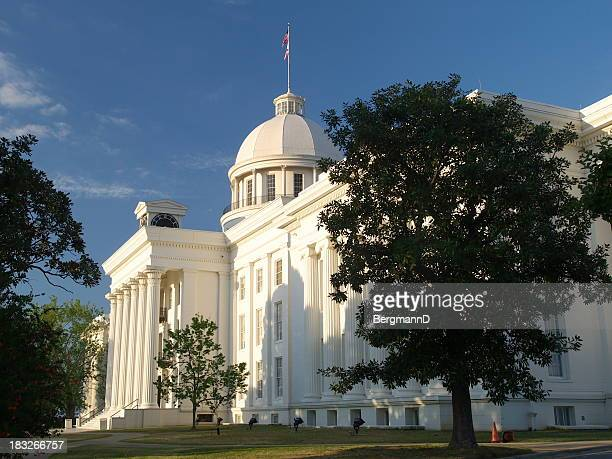 alabama capitol west side - montgomery alabama stock pictures, royalty-free photos & images